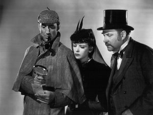 Many say that Basil Rathbone is the definitive Sherlock