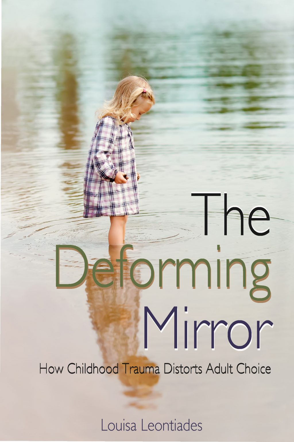 Cover Art for The Deforming Mirror by Louisa Leontiades